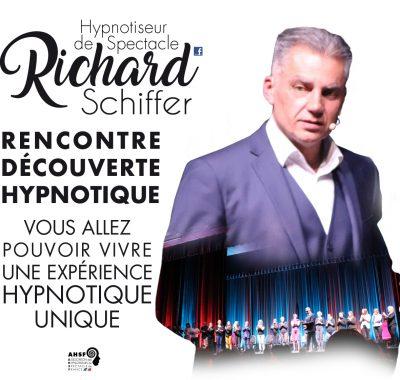 Richard Schiffer Hypnotiseur de spectacle - festival-du-livre-marseille-hypnose